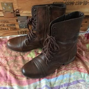 Troopa boots by Steve Madden